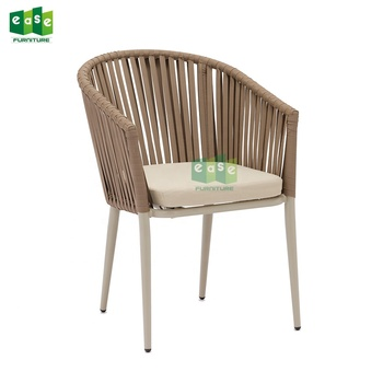 aluminum rope chairs outdoor patio furniture