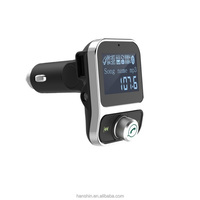 Dual USB Car Charger BT Handsfree Car kit FM Transmitter 5V 3.1A Car Music Player