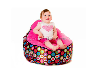 Incroyable Multifunctional Polka Pink Baby Bean Bag Chair, Modern New Design Kids  Beanbag Toddlers Seat With