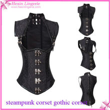 Steampunk Corset Supplying Ring Buckle Outerwear Corset Bustier