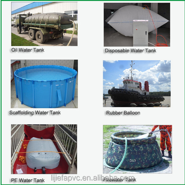 High quality hot sale foldable pvc flexible water tank pvc for Plastic hot water tank