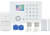 Camera integrated WIFI GSM alarm system support app remote monitoring everywhere