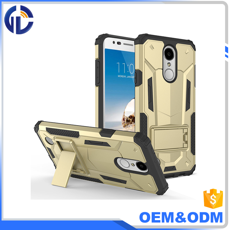 Wholesale mobile phone case for LG LV5/K10 2017/K20 Plus, kickstand phone cases for LG LV5/K10 2017/K20 Plus