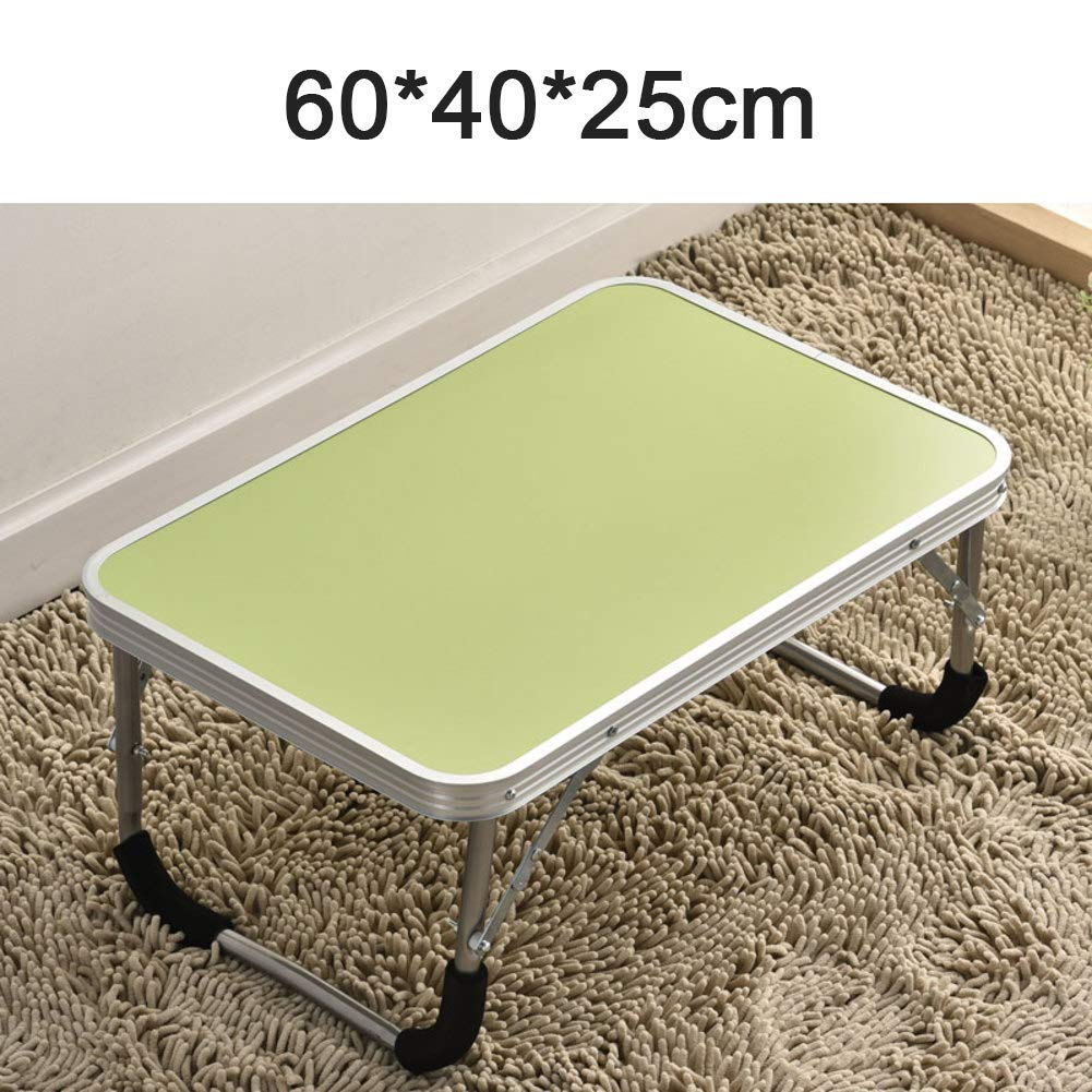 Portable Adjustable Aluminum Laptop Desk,Portable Laptop Desk 360 Degree Folding Computer Lap,Mouse Board Side Mount,Lightweight Aluminum Tray for Bed Sofa Couch