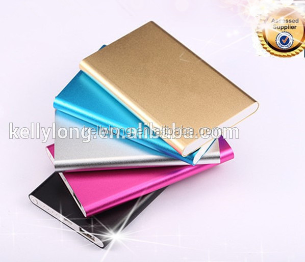 Advertising 4000mah Cell Phone Charger USB Power Pack Portable Mobile Source