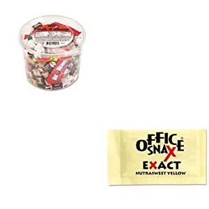 KITOFX00013OFX00062 - Value Kit - Office Snax Nutrasweet Yellow Sweetener (OFX00062) and Office Snax Soft amp;amp; Chewy Mix (OFX00013)