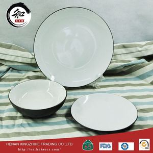 Fda Certificate Thai Ceramic Tableware Wedding Stoneware Sets Red Ceramic Tableware