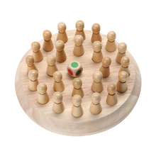 <span class=keywords><strong>Kids</strong></span> Memory Match Stick Schaakspel Kinderen Vroege Educatief Speelgoed 3D Puzzel Party Casual Game