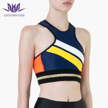 sexy India womens activewear plain blank fitness crop top bulk customizing sports yoga bra