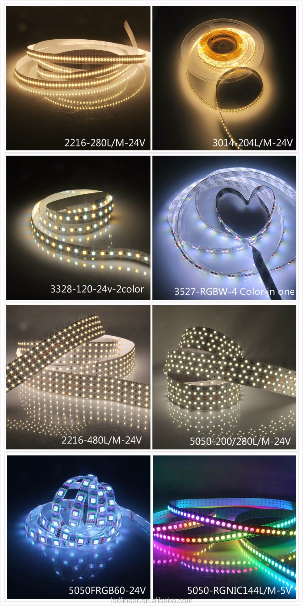 Newest Profile Aluminum Led Strip For Display Case And Under ...