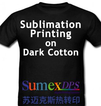 Sublimation Dark Cotton T shirt Heat Transfer Paper No Cut 185gsm