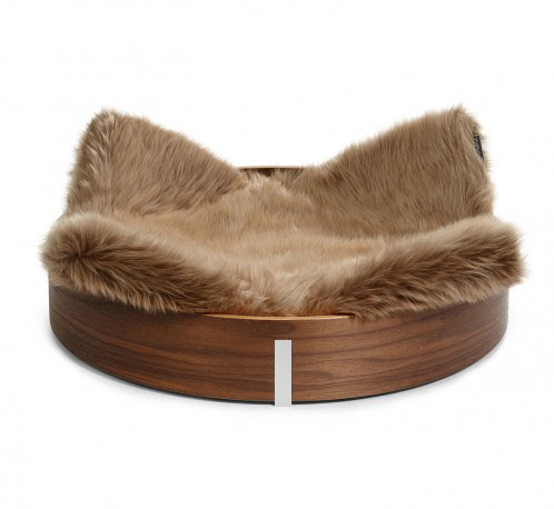 Cat Wooden House Pet Furniture Bed High Quality Round Cat Bed