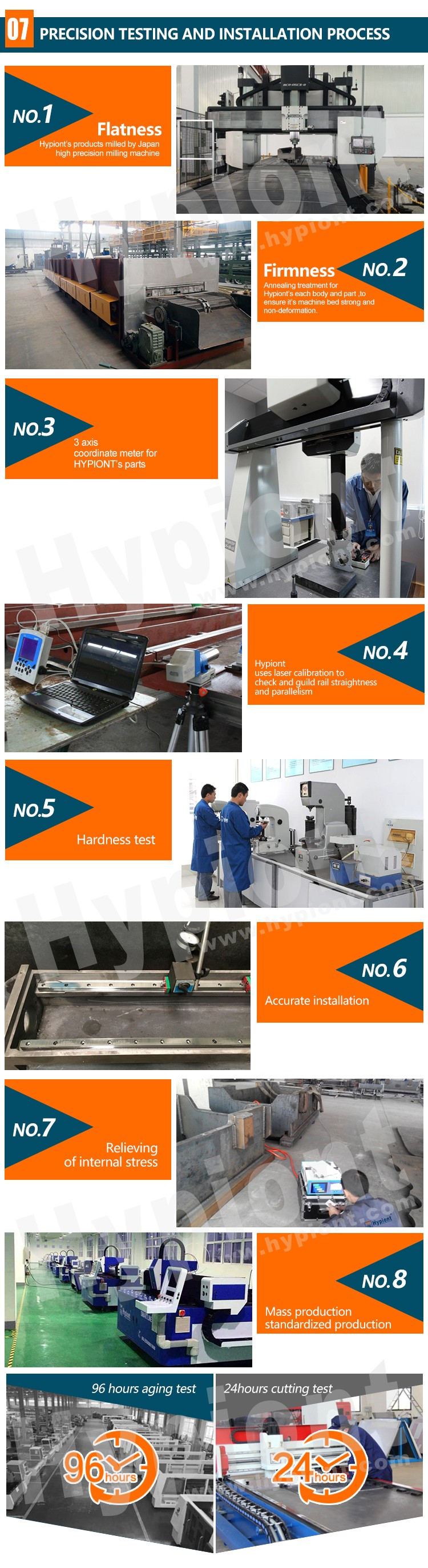 waterjet cutting machine for glass cutting with TUV CE ISO9001 certifications and 3 Years warranty