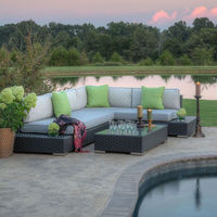 Hot sale manhattan wide wicker sectional furniture outdoor new model sofa set designs and prices