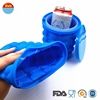 Wholesale World Cup New Product Easy release Silicone Ice Cube Maker Ice Bucket Amazon