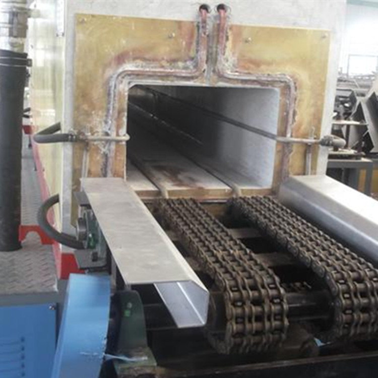 Intermediate frequency square steel induction heating furnace
