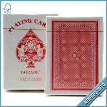 Professional supplier royal brand 100% all plastic playing cards