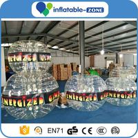 Inflatable bubble soccer ball suit corporate bubble soccer clear glass bubble ball