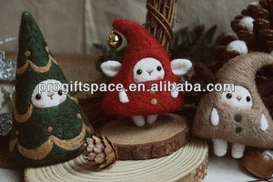2018 Hot new bestselling product wholesale alibaba Eco friendly handmade felt christmas tree plush toy in bulk made in China