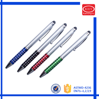 Multi-functional Screen Touch Stylus Metal Pen