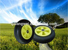 wheelbarrow pu foam wheel,inflatable wheel barrow tire