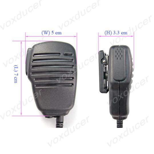 Police Radio Mic >> Two Way Radio Police Handheld Ptt Speaker Mic For Motorola Walkie