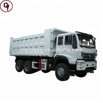 CNHTC Howo Sinotruk 371 price for Golden Prince 6x4 25 ton dump truck