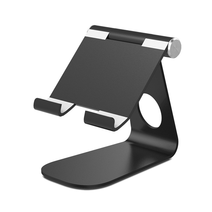 Universal Aluminium Foldable Multi Angle Adjustable Ponsel Tablet Stand Pemegang untuk iPad Iphone