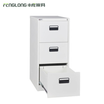 Mini Business Card 3 Drawer Metal File Cabinet