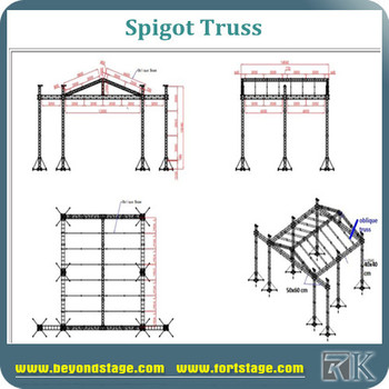 Triangle Aluminum Brand Frame Truss And Garage Roof Trusses - Buy ...