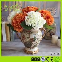 45CM Height wholesale cheap silk hydrangea flowers artificial hydrangea flower for table wedding centerpiece