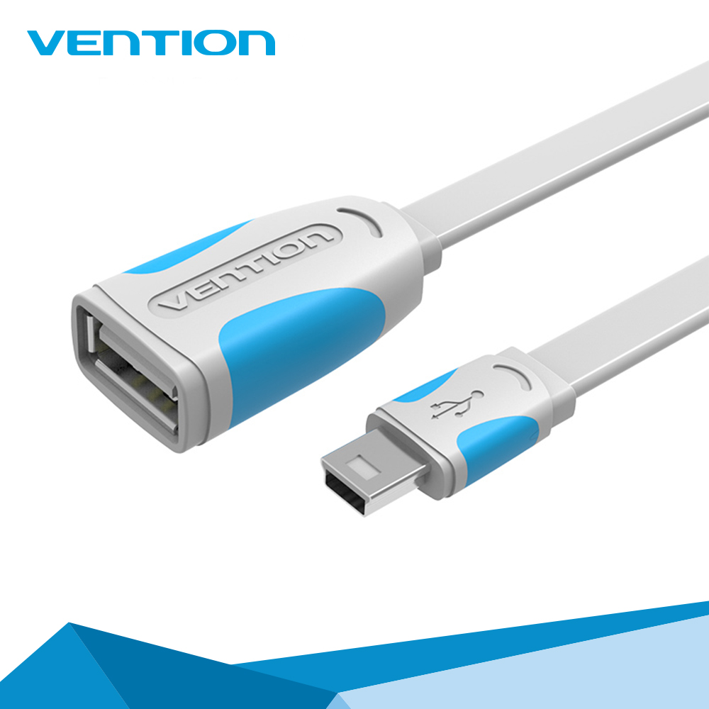 Vention male to female Mini USB 2.0 OTG Cable for Tablet PC/MP3/Cellphone /GPS