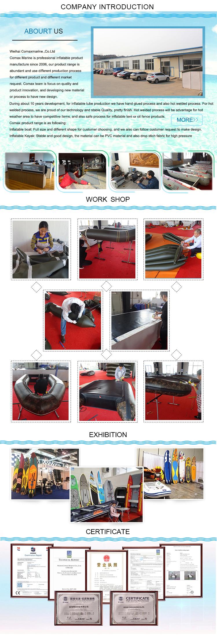 China fornecedor 1-4 pessoas PVC barato barco inflável