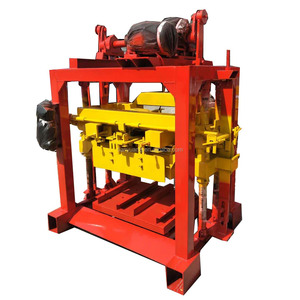 QTJ4-40 small cement brick machine /concrete block making machine price in China