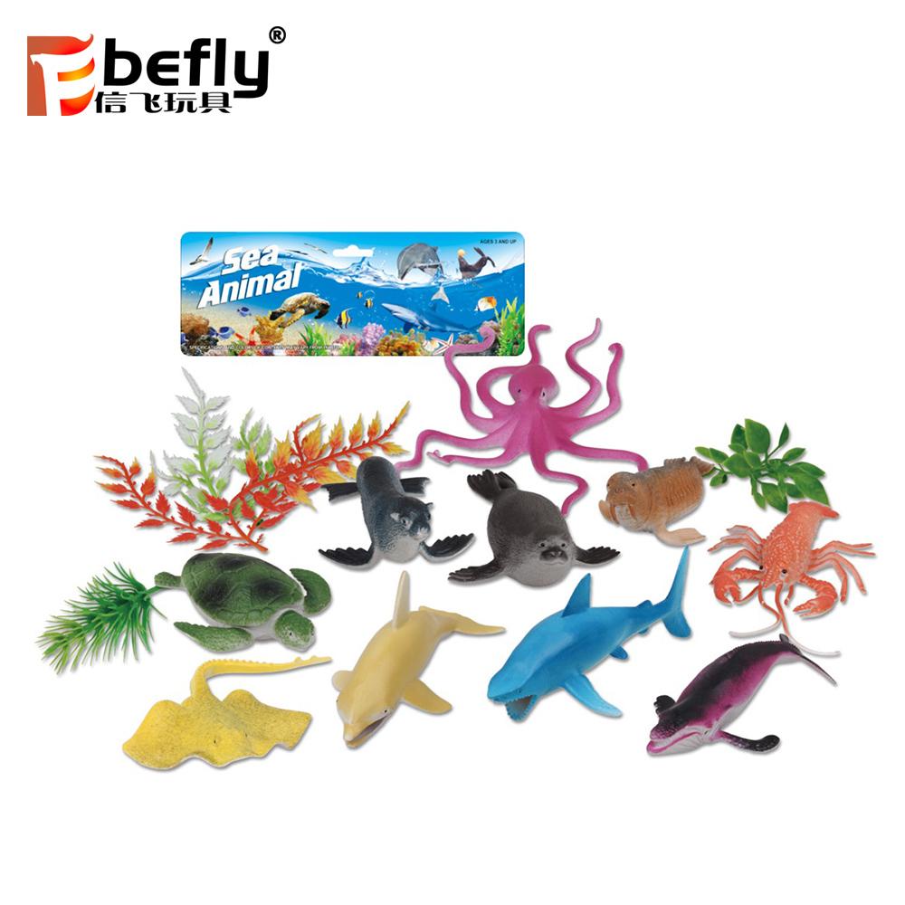 Animaux En Plastique Jouet petite créature de mer animaux jouets en plastique pour enfants - buy  ensemble d'animaux en plastique,ensemble d'animaux jouets,jouet animal  sealife