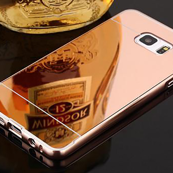 24k gold plated metal frame for iphone 6s 6 plus housing
