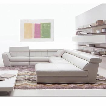 Moderno Design Raffinato Elegante In Pelle Colore Bianco 6 Posti ...