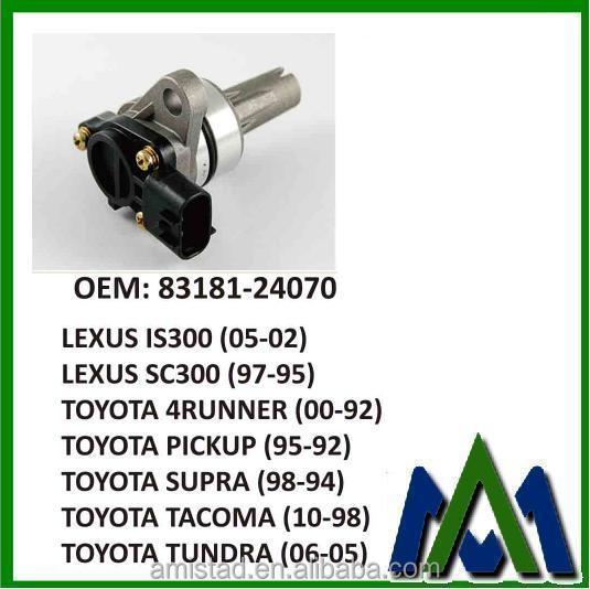Vehicle Speed Sensor For Toyota Oem:83181-24070 Toyota Spare Part Speed  Sensor - Buy Vehicle Oem Speed Sensor For Toyota,Speed Sensor For Toyota  Oem