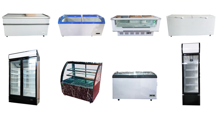 Factory price Bakery Cake cold showcase /food display refrigerator