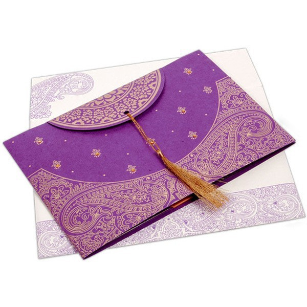 Butterfly Ribbon Design Indian Wedding Cards Invitation Buy