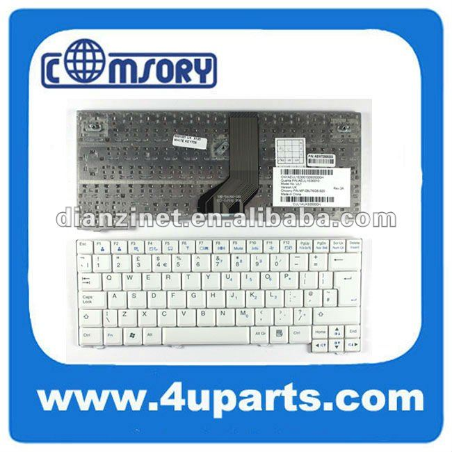 Genuine New Keyboard For LG P100/C1 US White Keyboard