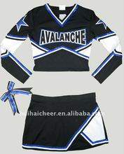 Spandex cheerleading shell top e saia