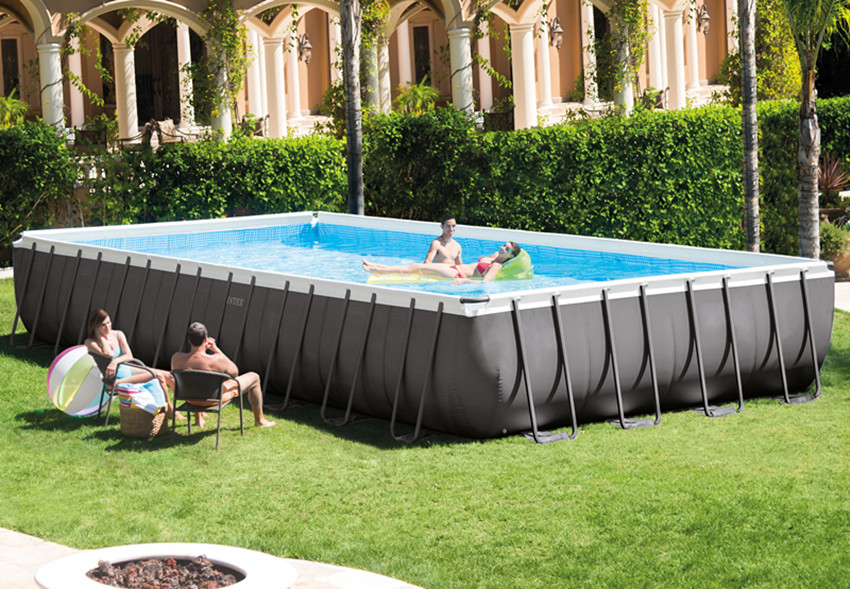 Intex 26372 Ultra Metal Frame Above Ground Swimming Pools - Buy ...