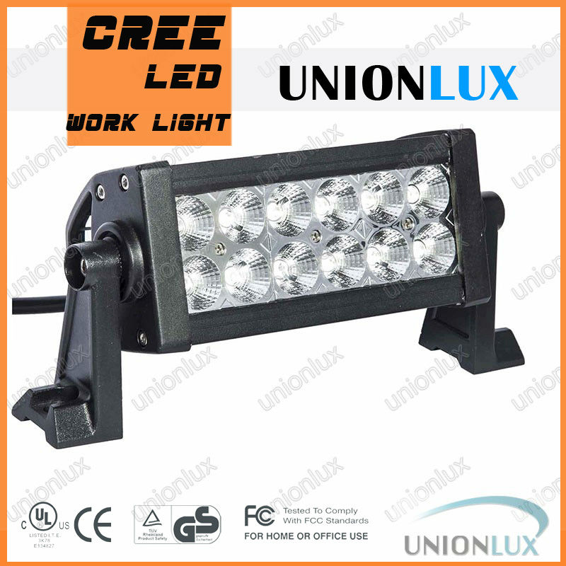 Epistar 36 w tas led barres lumineuses, Led camion light12V flood spot hors route cree led barre lumineuse