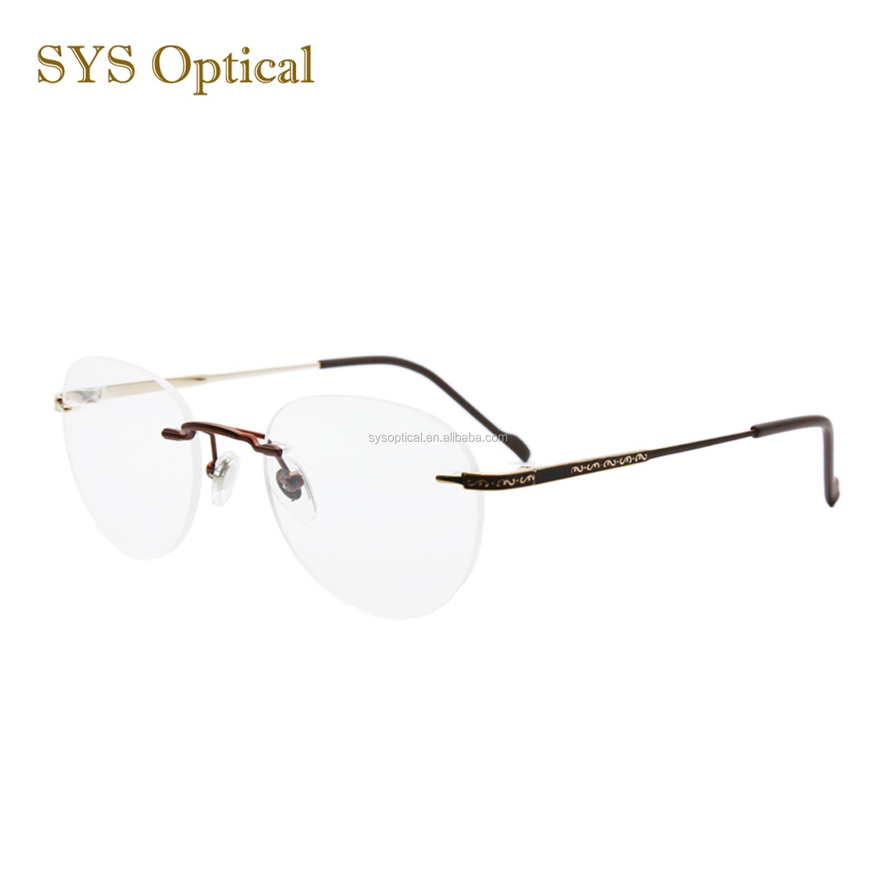 Most Popular Vintage Rimless Frame Glasses With Spring Leg - Buy Popular Eyeglasses  Frames,Eye Glasses Frame,Fancy Eyeglass Frames Product on Alibaba.com