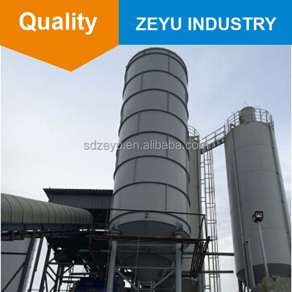 Cement Silo 50 80 100 150 200 ton for Concrete Mixing Plants For Sale