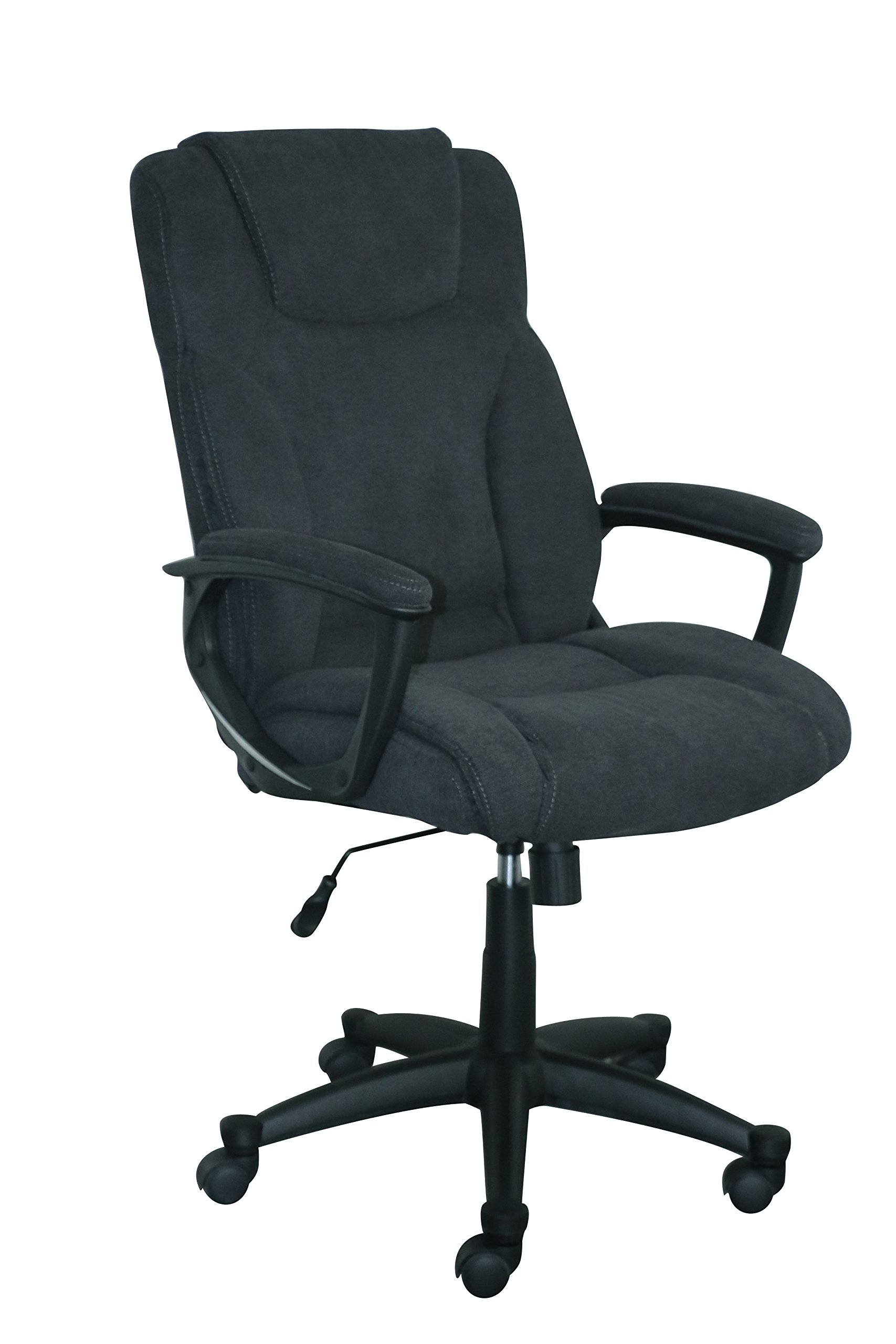 Serta Style Hannah II Office Chair, Microfiber, Black