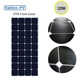 New Material ETFE Laminated 120W American Sunpower Cell Semi Flexible Solar Panel Price for Battery Charging