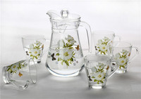 Glass Water Pitcher Sets Water Jug Set