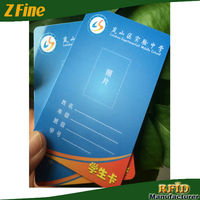 Preprinted Icode Sli-S PVC Proximity Card with Barcode/Offset Printing Business Card with DOD Number